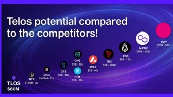 Telos TLOS Technology Compared To Other Top Blockchains In The Market