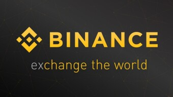 How many people visited Binance in last 6 months?