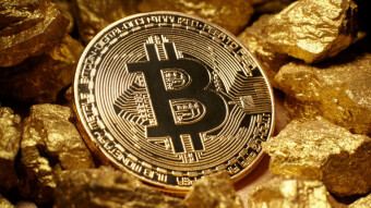 Bitcoin potential as % of gold market