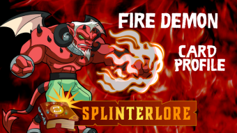 Splinterlands Epic Card Profile - Fire Demon