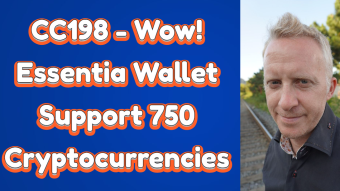 CC198 - Wow! Essentia Wallet Support 750 Cryptocurrencies