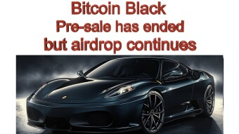 Bitcoin Black Pre-Sale Is Over But The Airdrop Registrations Continue