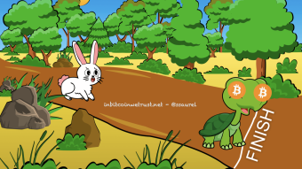 """6 Essential Lessons From """"The Tortoise and the Hare"""" To Master the Bitcoin Game"""