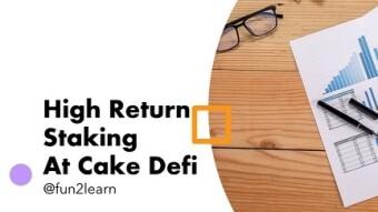 Develop A Passive Income Through Cake Defi