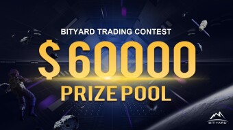 $60, 000 up for grabs! Trade for the win! It's Bityard's trading competition.
