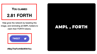 How To Claim Your $FORTH Airdrop Given By Ampleforth