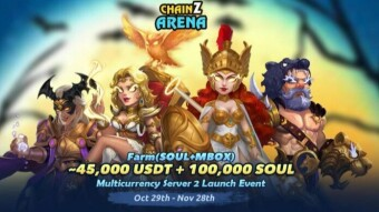 ChainZ Arena Event With 45,000 USDT & 100,000 Soul Prizes