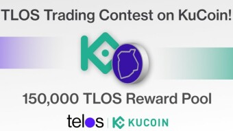 150K $TLOS (~$32,500) Trading Competition Reward In KuCoin From The Greenest Blockchain Telos Network