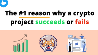The #1 reason why a cryptocurrency succeeds or fails