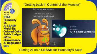 KULTUR TKOs Issue #002: AI on a Crypto Smart Contract LEASH- For Humanity's Sake