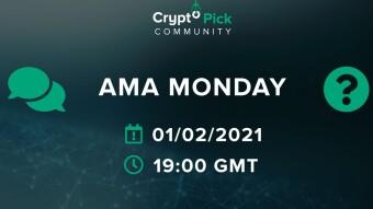 📢 CryptoPick Announcement - New AMA Monday 01/02