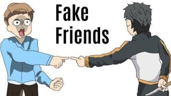 How to spot a fake friend!