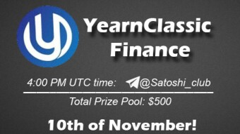 YearnClassic Finance x Satoshi Club AMA Recap from 10th of November