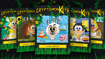 Free BANANO NFTs: cryptomonKeys Update #23-monKeymining, monKeymiles & monKeyslots
