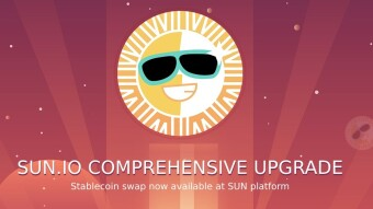 Sun.io is ready to shine - upgrades and new staking options