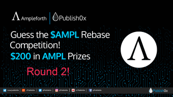 Guess #AMPL Rebase Competition - Round 2: $200 in $AMPL to 3 Best Guessers!