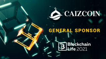 Caizcoin is the General Sponsor of Blockchain Life 2021.
