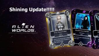 Alien Worlds Shining Update!