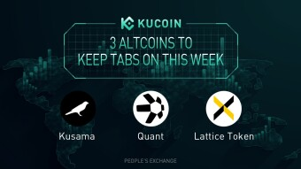 3 Altcoins To Keep Tabs On — QNT, LTX, KSM | KuCoin Weekly Review Issue #25