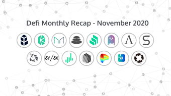 DeFi Monthly Recap - November 2020