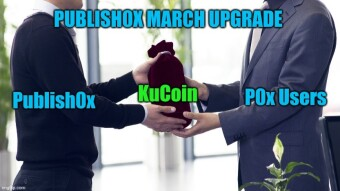 Publish0x & Kucoin: How to withdraw and manage your P0x earnings