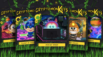 Freely Distributed BANANO-themed NFTs: cryptomonKeys Update#28