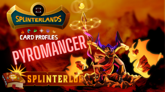 Splinterlands Epic Card Profile - Pyromancer