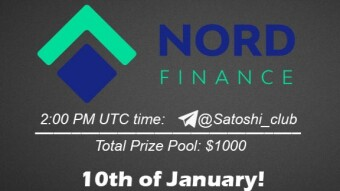 NORD Finance x SatoshiClub AMA from 10 January