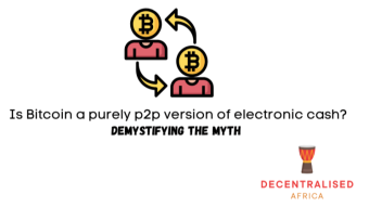 What is the real peer-to-peer version of electronic cash?