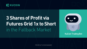 3 Shares of Profit via Futures Grid 1x to Short in the Fallback Market
