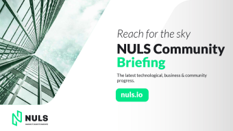 NULS community briefing for the second half of August 2021