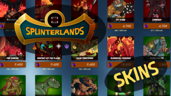 Have you checked out the Splinterlands SKINS?
