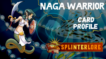 Splinterlands Epic Card Profile - Naga Warrior
