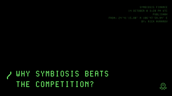 Why Symbiosis Beats the Competition?
