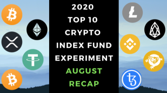 EXPERIMENT - Tracking Top 10 Cryptos Of 2020 - Month Twenty – UP 847%