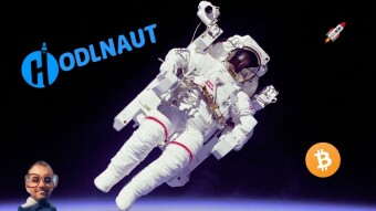 The friendly HODLnaut from outer Crypto Space - Earn high APY on your Bitcoin and Ethereum!