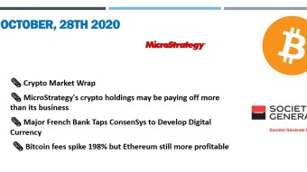 🗞 Daily Crypto News & Video October, 28th 💰