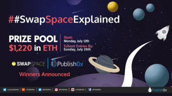 #SwapSpaceExplained Contest and Giveaway Winners Announced - $1,220 in ETH Rewarded!