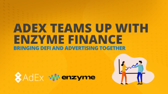 We are teaming up with Enzyme Finance to Bring Advertising and DeFi Together
