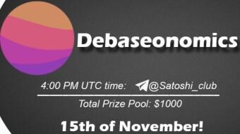 Debaseonomics x Satoshi Club AMA Recap from 15th ofNovember