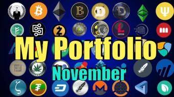 My Crypto Portfolio (November)