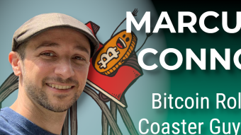 Bitcoin Roller Coaster Guy Marcus Connor on Crypto Art, NFTs, and Hal Finney Fundraiser