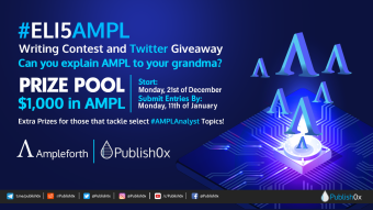 #ELI5AMPL Writing Contest and Twitter Giveaway - $1,000 in AMPL Prizes + Extra Prizes (click for details!)