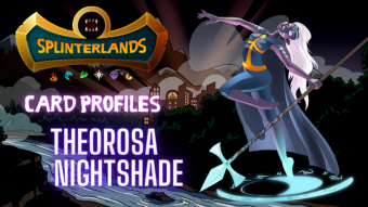 Splinterlands Legendary Card Profile - Theorosa Nightshade