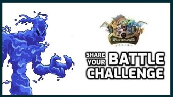Splinterlands | Water Elemenal Challenge