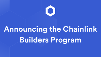 Announcing the Chainlink Builders Program