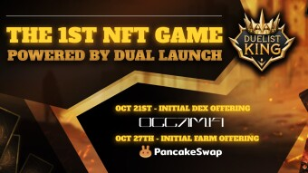 The 1st Gamify project to go on a Pancake Swap #IFO - check out Duelist King this October 27th!