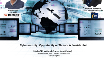 Cybersecurity: Opportunity or Threat – A fireside chat