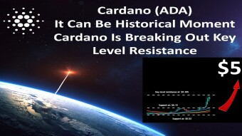 Cardano (ADA)It Can Be Historical Moment Cardano Is Breaking Out Key Level Resistance