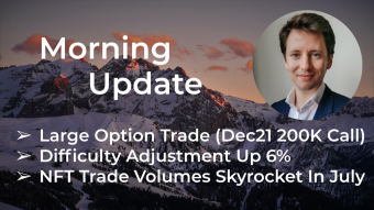 Morning Update—August 3rd—Macro and Crypto Markets
